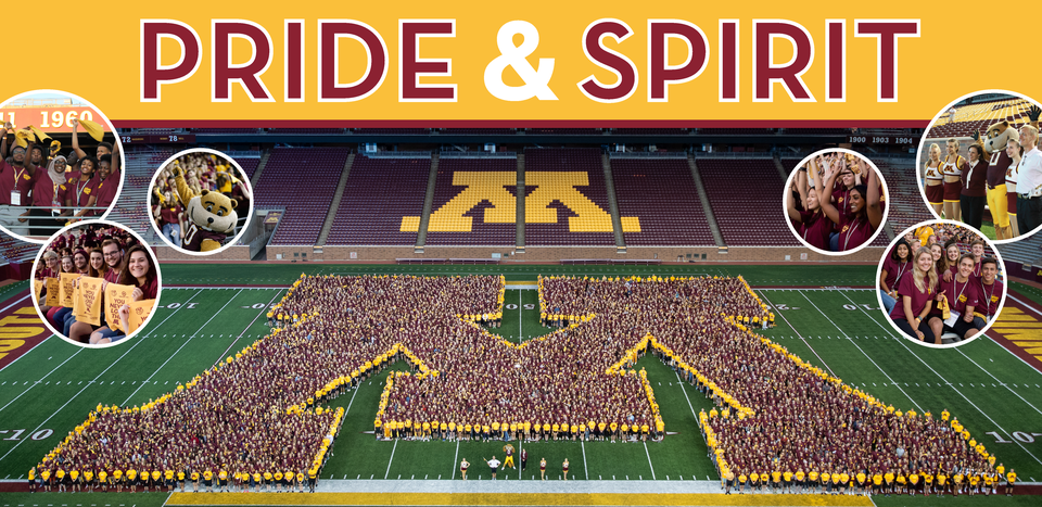 Pride & Spirit University of Minnesota Land O'Lakes