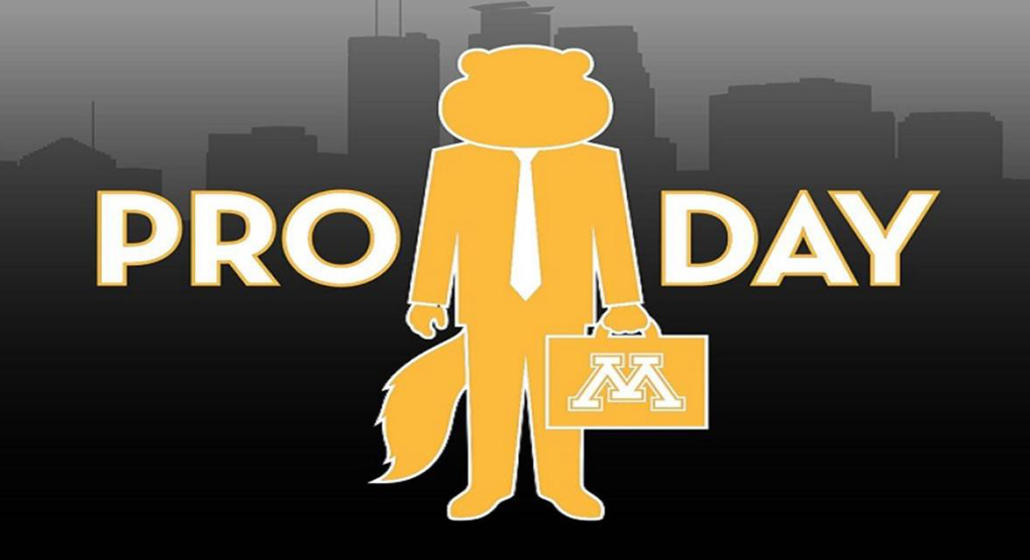 Gopher Athletics Pro Day goes virtual