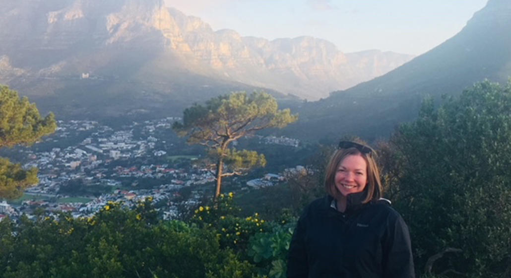 Rebecca Swenson in Cape Town, South Africa